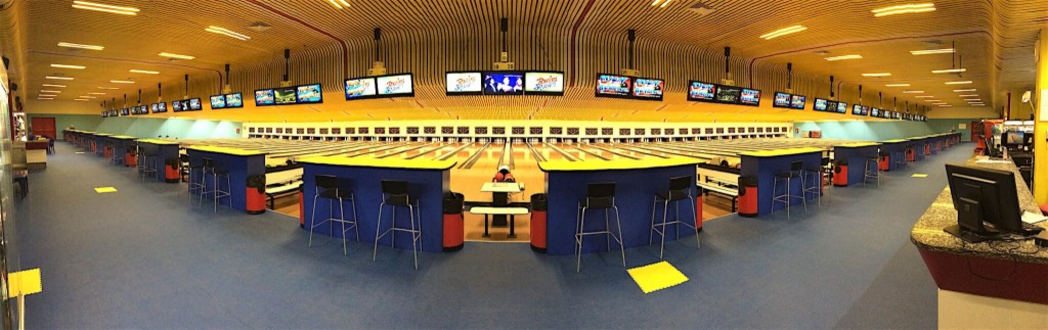 40 piste da bowling in acero canadese