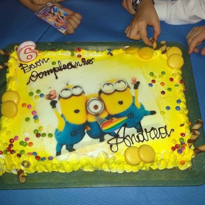 torta compleanno Minion